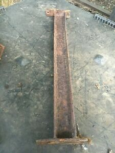 Fisher Minute Mount Plow Push Plate Ford Trucks 7159 Channel Crossmember