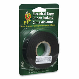 Duck Pro Electrical Tape 3 4 X 66 Ft 1 Core Black 551117