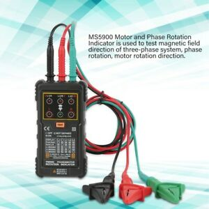 Portable Three phase Manual Speed Display Tester 3 phase System Motor Test