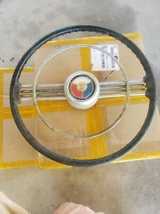 1953 53 Buick Roadmaster Skylark Super 8 Steering Wheel Custom Hot Rod Oem