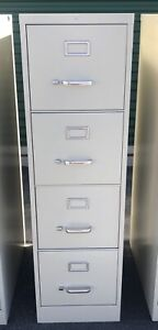 Commercial Grade 4 Drawer File Cabinet Vertical used