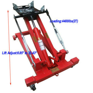 Brand New 2t Hydraulic Low Lift Floor Transmission Jack 8 85 To 35 43 Usa Sale
