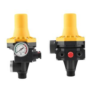 Automatic Water Pump Controller Electric Control With Pressure Gauge 220v