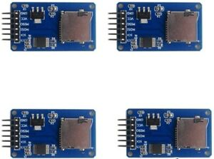 Geekstory Micro Sd Card Adapter Writer Tf Module For Arduino Lot Of 4