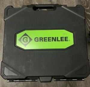 Greenlee Textron 7304 Knockout Punch Set For 2 5 3 3 5 4 conduit Case