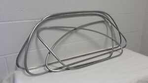 1941 Chevrolet Special Deluxe Coupe Window Trim Moldings Rh Lh Set Of 4 Oem
