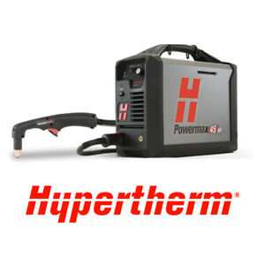 Hypertherm 088124 Powermax45 Xp Plasma With Cpc 20ft 75 And 15 Hand Torches