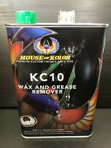 House Of Kolor Kc10 Wax And Grease Remover Gallon