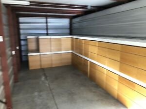 Complete Stores Worth Of Retail Display Wall Shelving Lighted Fixtures