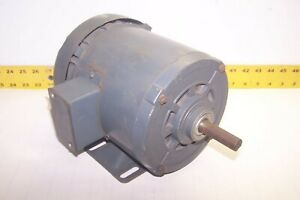 New Westinghouse 1 2 Hp Ac Electric Motor 230 460v 1725 Rpm T56 Frame 3 Phase