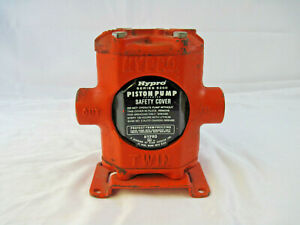 Nos 7 1 2 Tall Metal Orange Hypro Series 5200 Twin Piston Pump Model 5210c