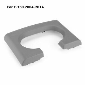 Center Console Cup Holder Pad Replacement Grey Gray For Ford F150 2004 14