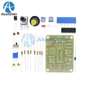 Icl8038 Monolithic Function Signal Generator Module Sine Square Triangle Kit