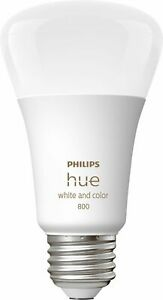 Philips Hue White Color Ambiance A19 Bluetooth Led Smart Bulbs 3 pack