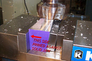 Quadrallel mill Workholding Tool For Machinist Bridgeport Cnc Vise Vice Jaw Kurt