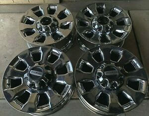 20 Ford F250 Superduty Chrome Lariat Platinum Oem Factory Stock Wheels Rims