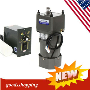 90w Ac Gear Motor Electric Motor Variable Speed Controller 1 50 27rpm