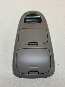 1997 2003 Ford F 150 Expedition Overhead Console Display Light Gray Grey Oem