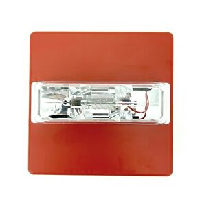 Wheelock Rss 24mcc fr Red Strobe Ceiling 24vdc 15 30 75 95cd