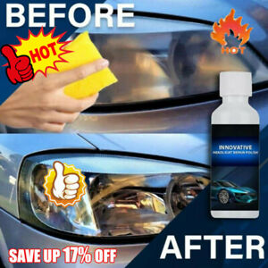 Innovative Headlight Repair Polish Fluid Liquid Kit Car Lamp Renovation Agent