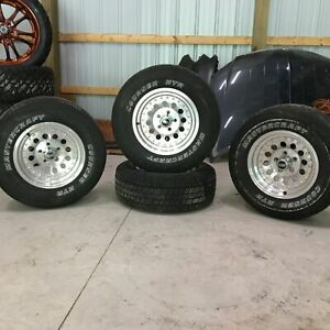 American Racing Rims Ar 062 15x7 6mm 5x115 Tire And Rim Set Of Four