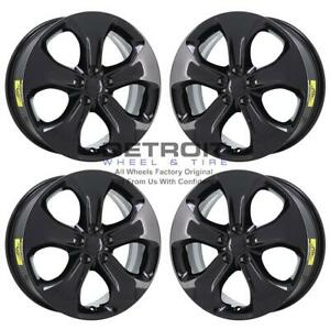 18 Jeep Compass Gloss Black Exchange Wheels Rims Factory Oem 9190 2018 2021