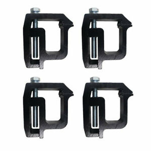 4x Thick Truck Cap Topper Camper Shell Mounting Clamps Heavy Duty For Tite Lok Fits Dodge Ram 1500