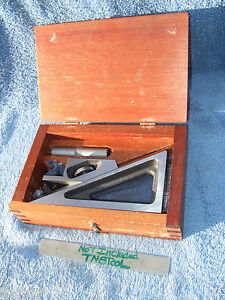 Planer Gage No 624 Brown sharpe Machinist Toolmaker Inspection Grind Layout Qa