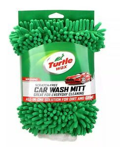 Turtle Wax Wash Mitt Car Auto Detailing New With Tags Microfiber Scratch Free