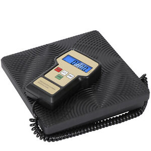 Refrigerant Charging Recovery Weight Lcd Digital Scale 220lb Hvac A c Ac