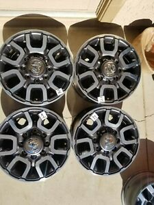 2020 2021 Dodge Ram 2500 3500 18 Factory Oem Wheels Rims Set Of4 With Caps