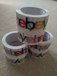 12 New Rolls Official Ebay Branded Tape Packing Shipping Supplies 75 X 2