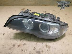 04 06 Bmw E46 Coupe Front Left Xenon Hid Adaptive Headlight Lamp W Washer Oem