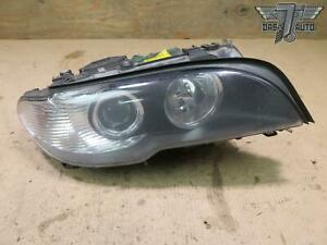 04 06 Bmw E46 Coupe Front Right Xenon Hid Adaptive Headlight Lamp W Washer Oem