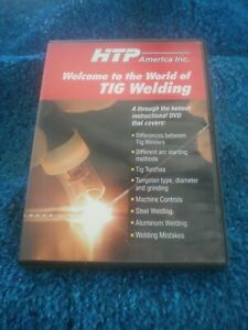Htp America Inc T 571 Welcome To The World Of Tig Welding dvd