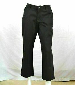 LEE all Day pants size 8P women#x27;s Black casual Pants stretch pockets $9.60