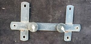 1986 Porsche 944 License Plate Mounting Bracket Complete Assembly