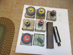 Sioux Stone Hold And 7 Sioux Valve Seat Grinder Stones