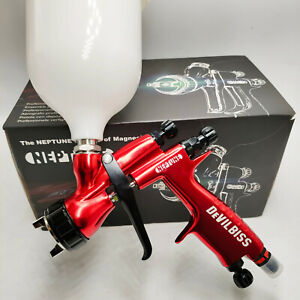 Devilbiss Neptune 110b 1 3mm Nozzle Professional Spray Gun Cars Paint