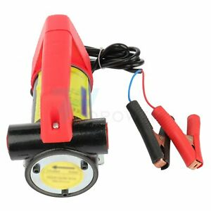 New 12v Oil Pump Electric Portable Transfer Pump Extractor