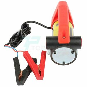 New 12v Oil Pump Motor Fluid Extractor Electric Siphon Diesel Oil Transfer