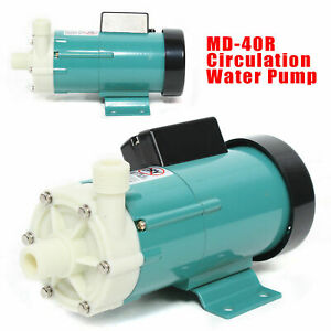 Md 40r Magnetic Drive Industrial Chemical Circulation Water Pump Fast Shipping