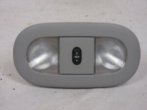 04 08 Ford F150 Overhead Map Light W Sun Roof Gray
