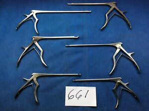 Boss Lynx Codman Medtronic Lot Of 6 Surgical Instruments 661