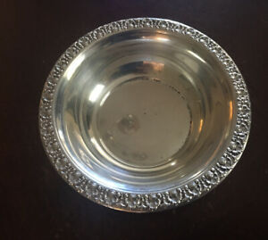 Small Sterling Silver Bowl 5 5 Diameter Weighs 61 Grams