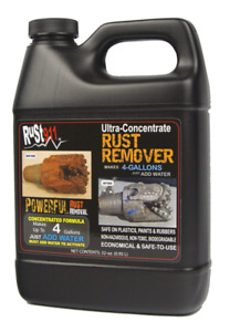 Rust911 32 Oz Jug That Makes 4 Gallons Of Ultra Powerful Rust Remover Free Ship