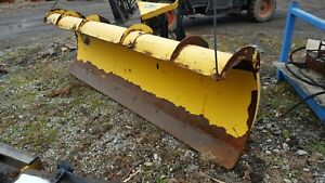 8 6 Ft Fisher Minute Mount Snowplow Dodge Chevy Ford Gmc