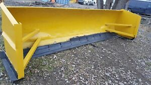 12 Ft Snow Pusher Box Blade Whell Loader Backhoe Bucket Style Used