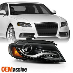 For 2009 2011 Audi A4 Hid Xenon Oe Projector Headlights Right Passenger Side