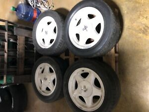 87 93 Ford Mustang Oem 16 Pony Wheels Gt Lx 5 0 16x7 Factory Rims 302 Foxbody